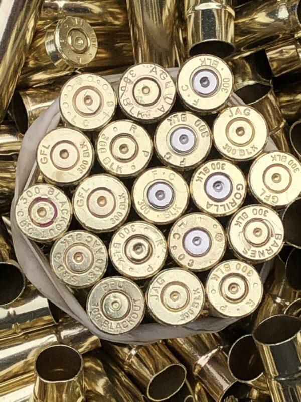 once fired 300 blackout brass