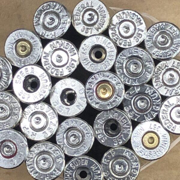 nickel 357 magnum brass