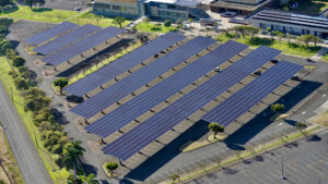 university of hawaii pacific current solar project