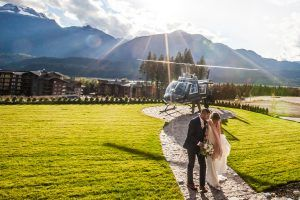 revelstoke, bison, lodge, wedding, weddings, helicopter