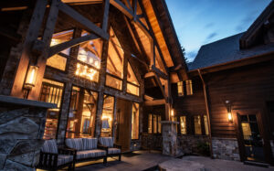 Luxury Bison Lodge