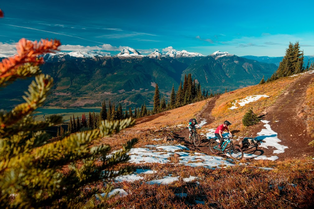 Mountain Biking in Revelstoke with Bison Lodge
