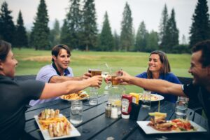 Revelstoke Golf Club Clubhouse Meals