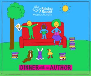 Dinner with an Author website