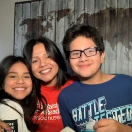 Guadalupe Panameno and Family