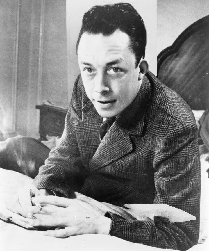 Albert Camus- New York World-Telegram y The Sun Newspaper Photograph Collection
