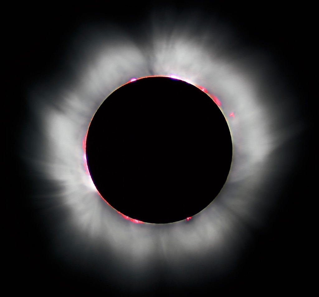 Eclipse solar, Universidad de Chile