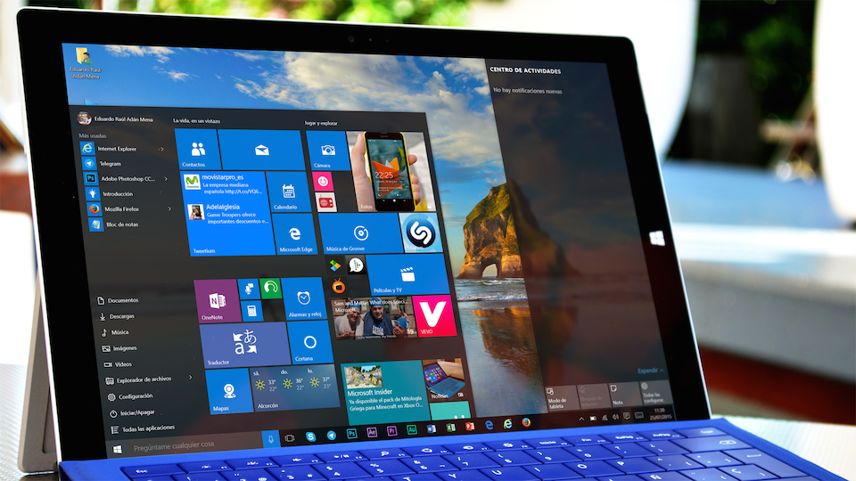 Surface Pro 3 con Windows