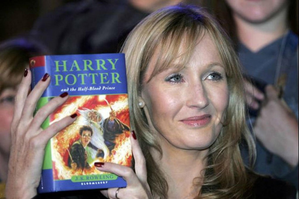 Joanne Rowling y Harry Potter