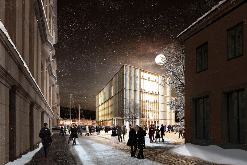 Centro Nobel, en Estocolmo, Suecia- David Chipperfield Architects
