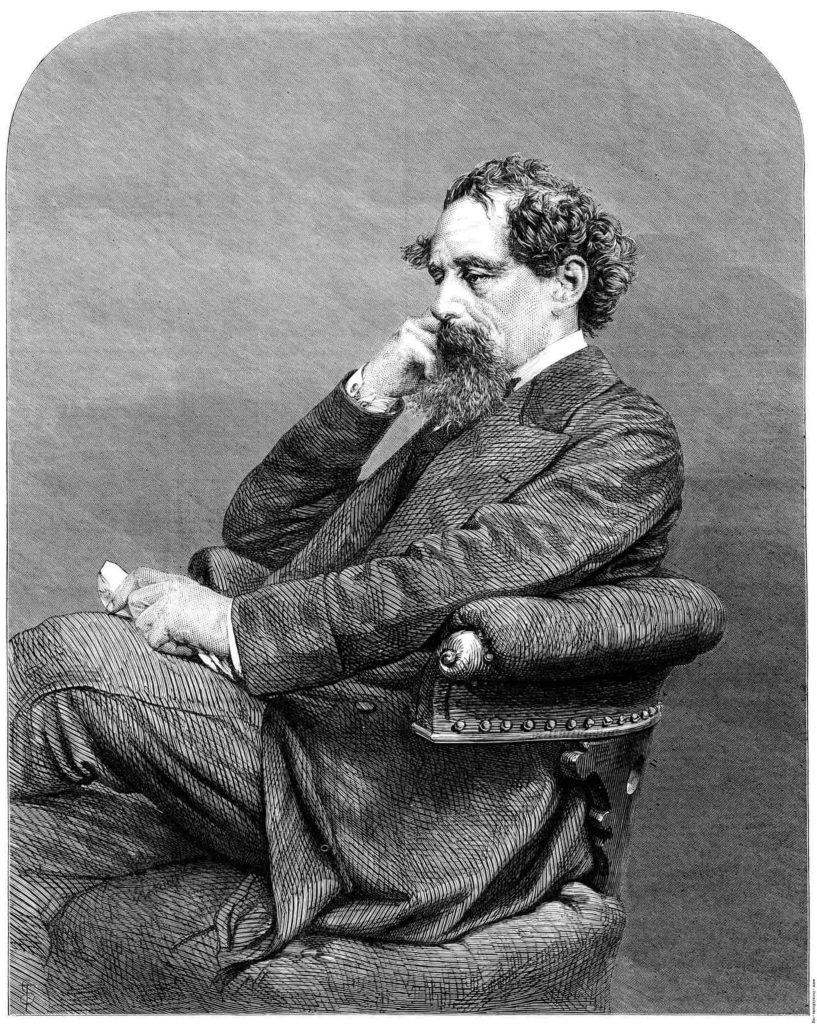 Charles Dickens - Leighton, George C. -Illustrated London News Vol 56- 1870