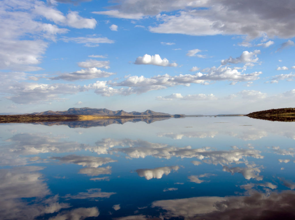 Lago Magadi en la estación lluviosa- Richard Owen