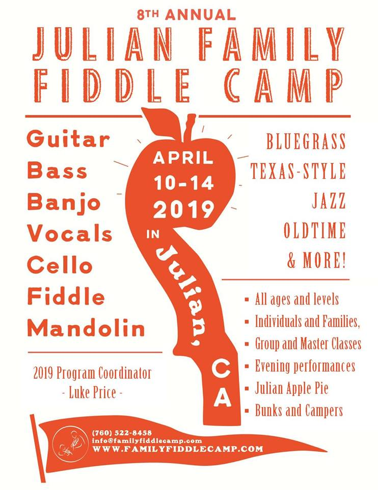 family-fiddle-camp 2019 Poster