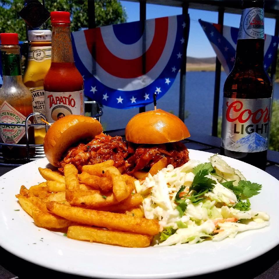 Lake Cuyamaca Burgers & Fries Photo