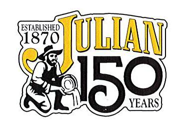 Julian 150 year logo