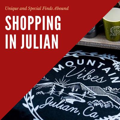 Shopping in Julian Photo