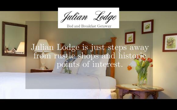 Julian Lodge Photo