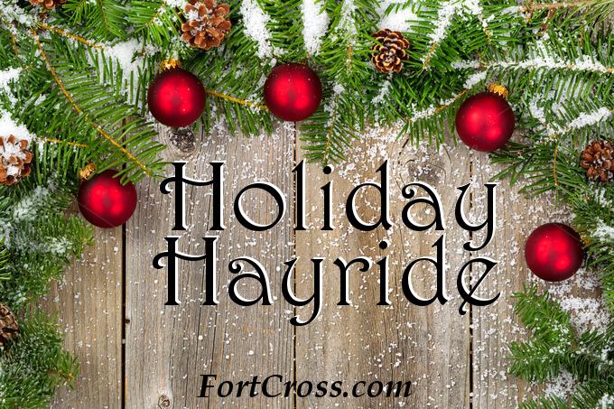 holiday hayride fort cross photo
