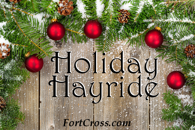 holiday hayride fort cross photo