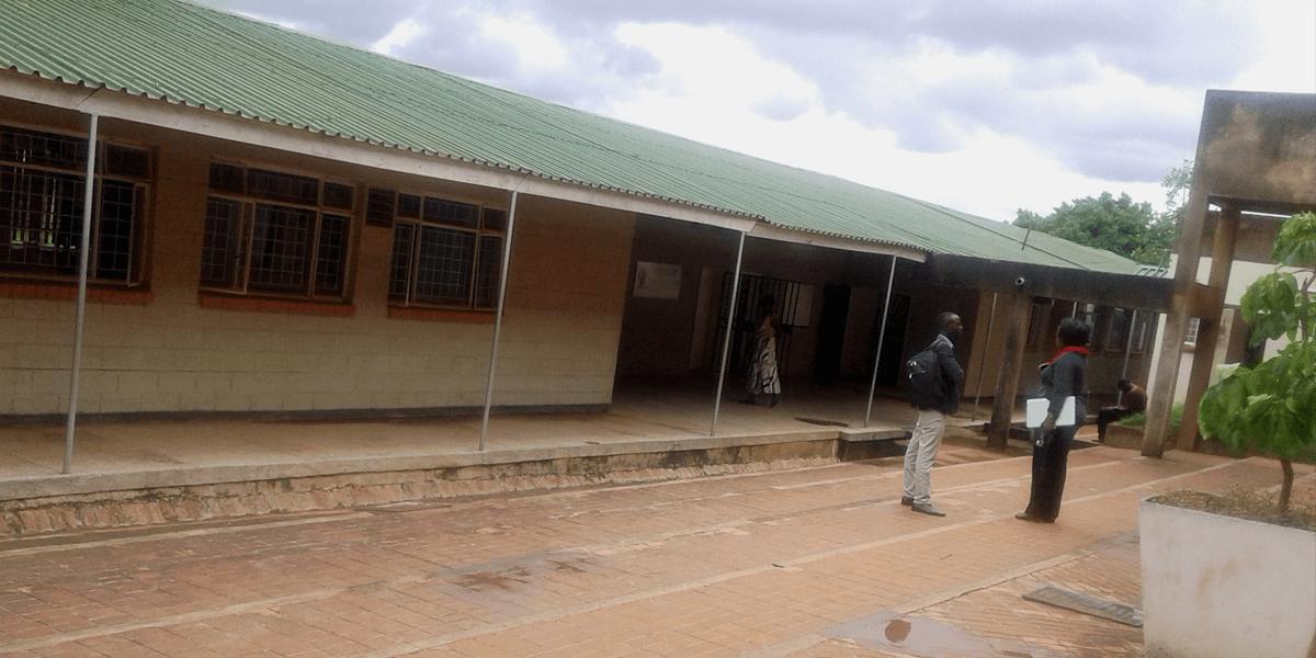 University of Zambia Department of Pharmacy lab block