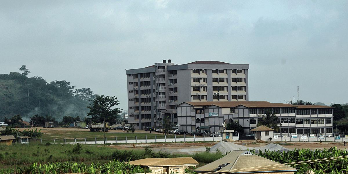 Garden City University College campus
