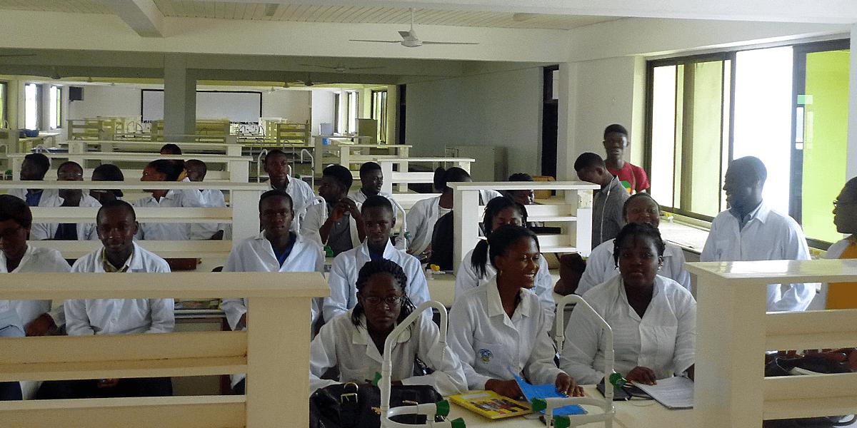 UGhana students