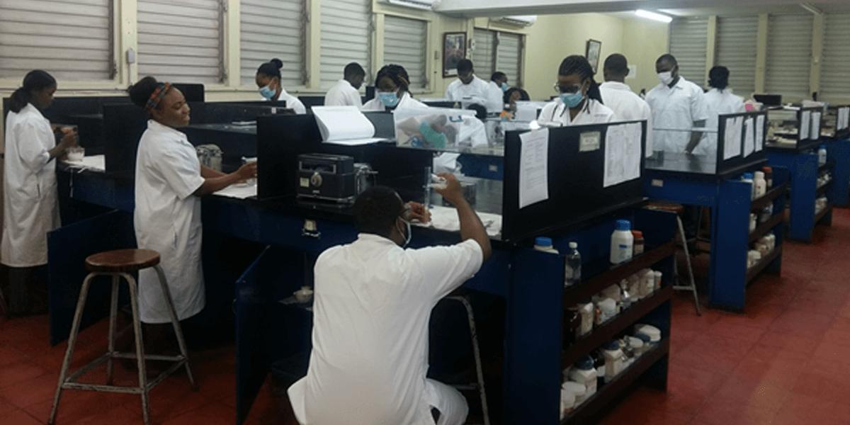 UTech Jamaica Dispensing Lab