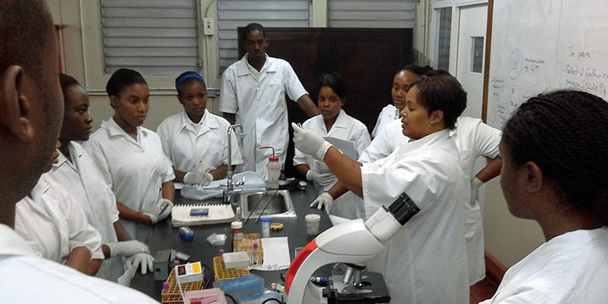 UTech Jamaica Medical Technology students