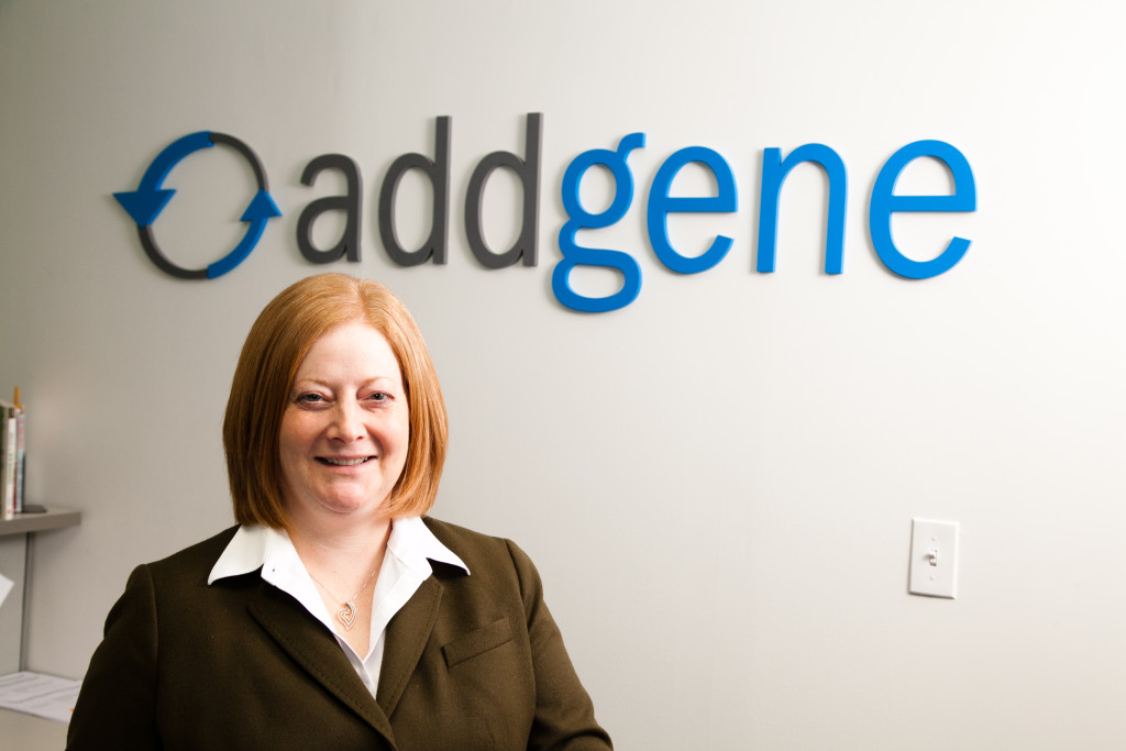 Joanne Kamens, PhD, Addgene Executive Director