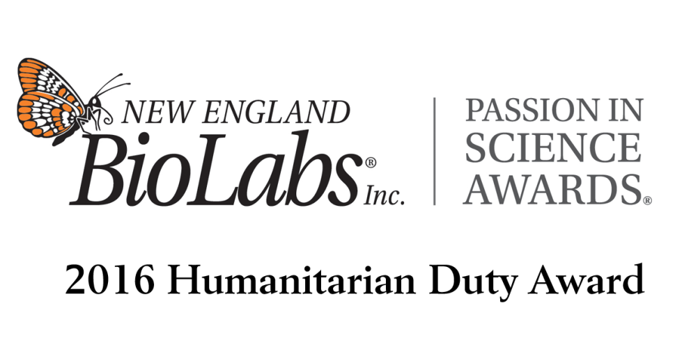 New England Biolabs Passion in Science Award