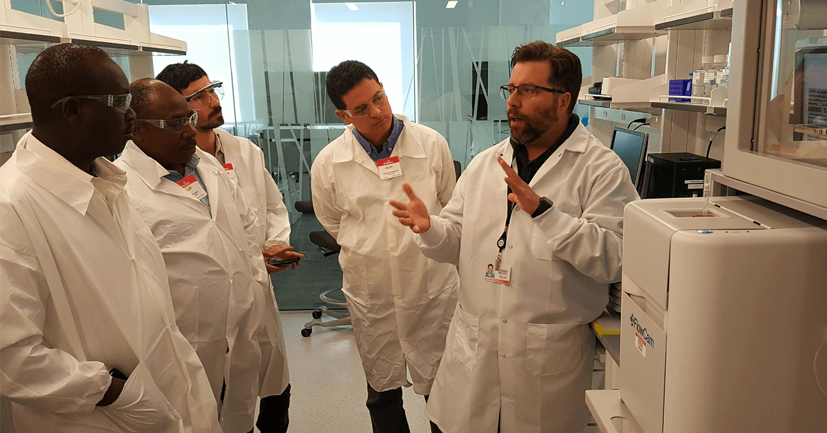 Scientists at Takeda