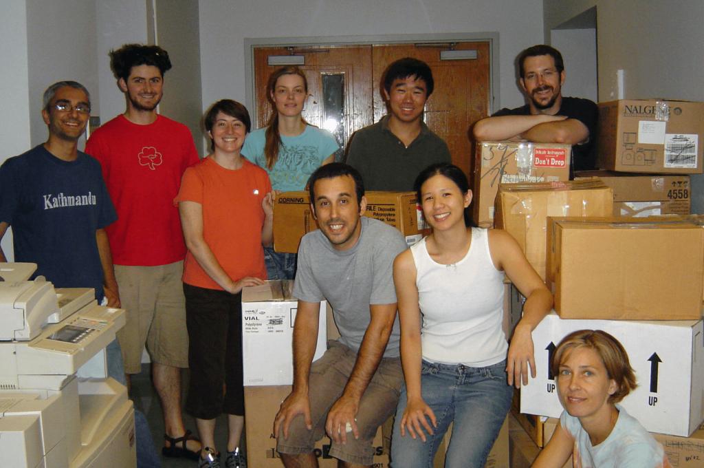 Seeding Labs volunteers at Harvard