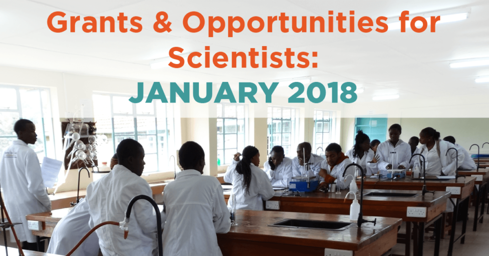 January 2018 Grants & Resources