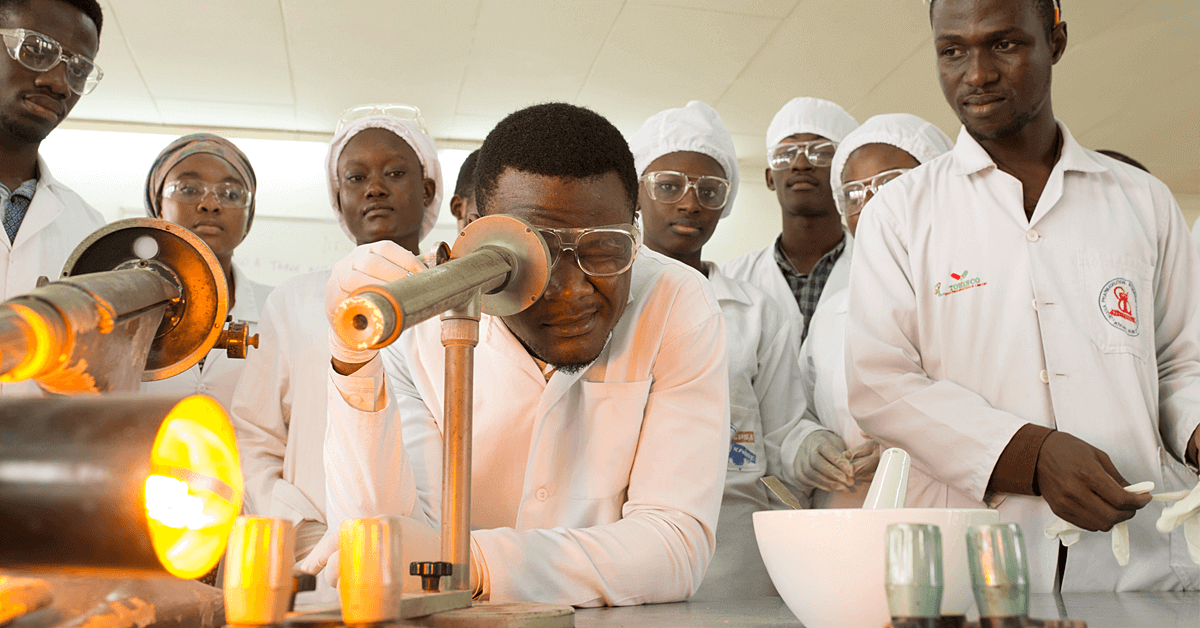 Students at KNUST