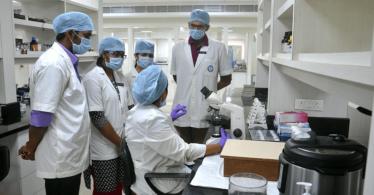 Instructing students at MMDC