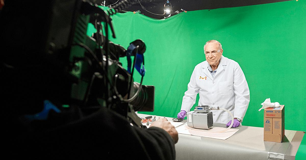 TeleScience filming