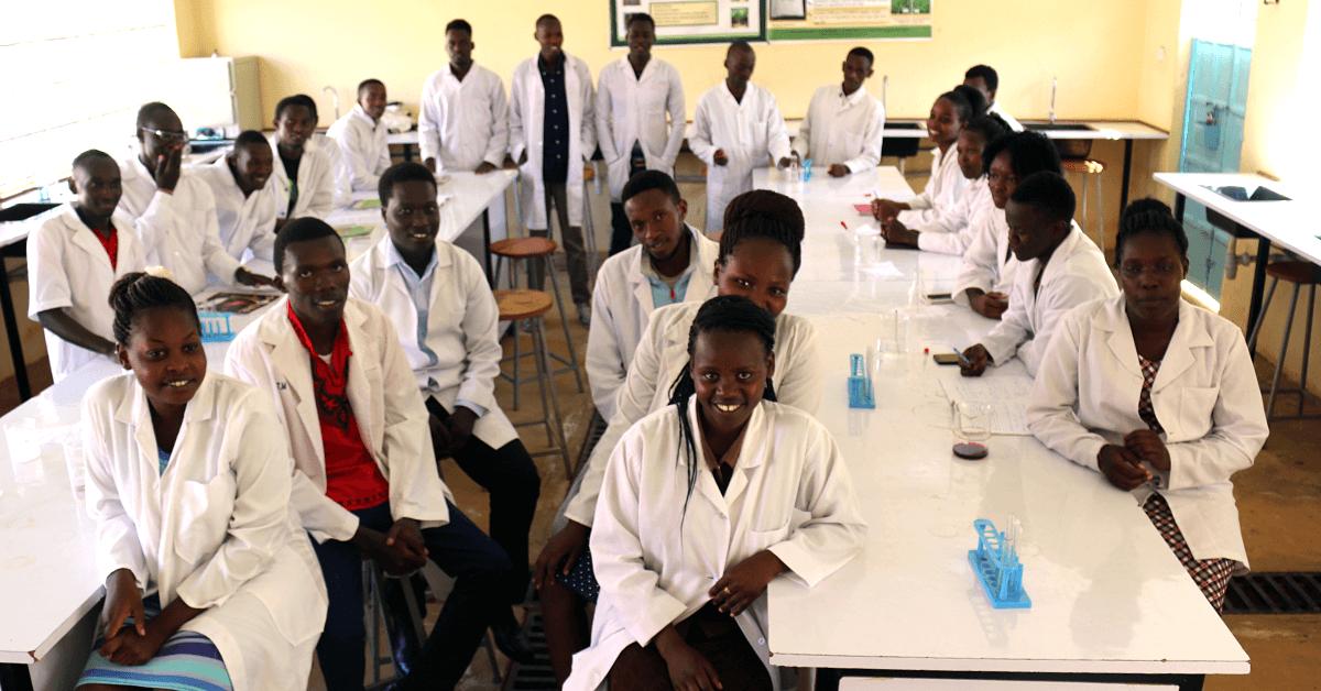 Rongo Biochemistry students