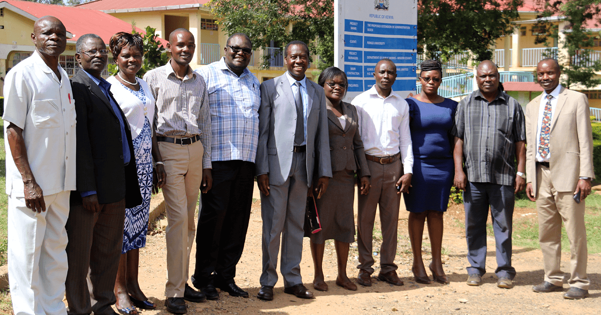 The Department of Biological Sciences faculty and staff