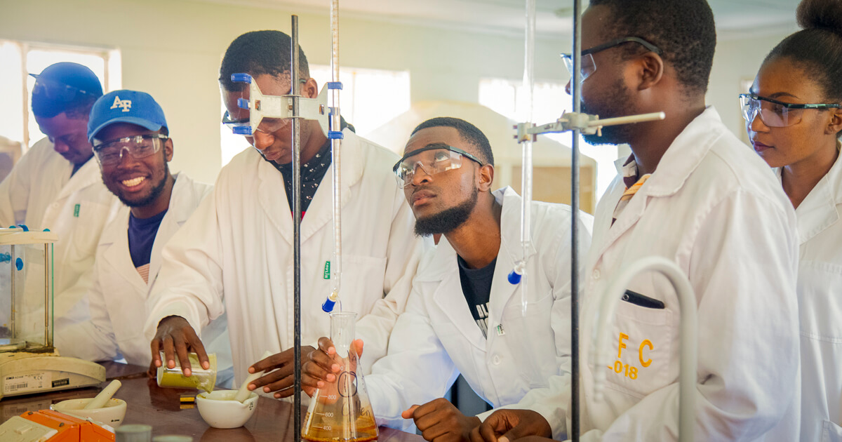 chemical technology students