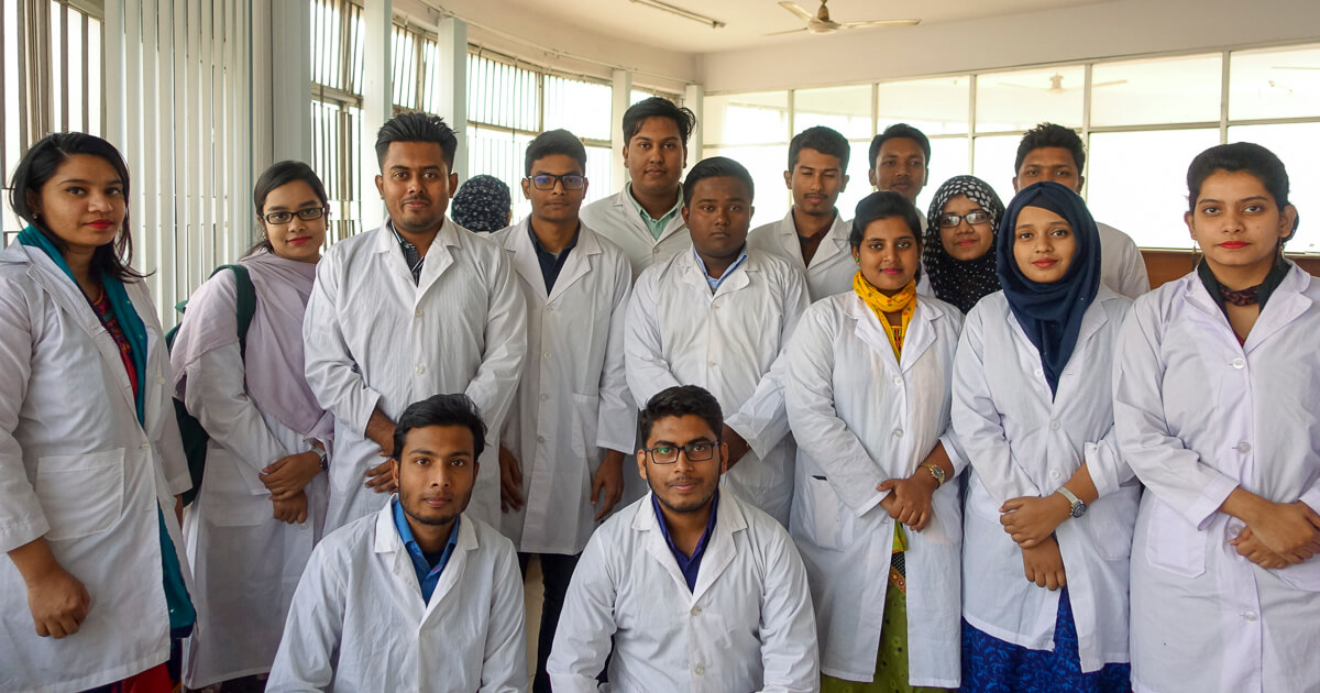 4th year students are in the Practical lab