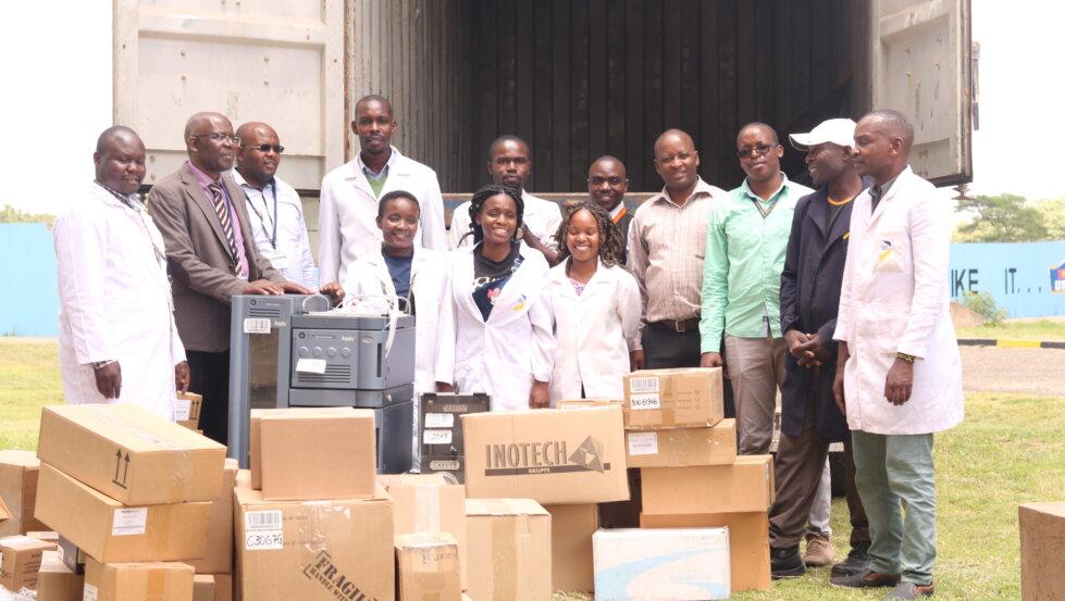 USIUA Equipment Arrival in Kenya