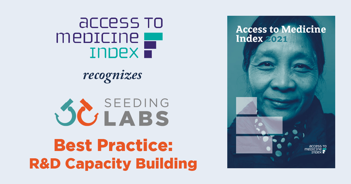 Access to Medicines Index Recognizes Seeding Labs as Best Practice