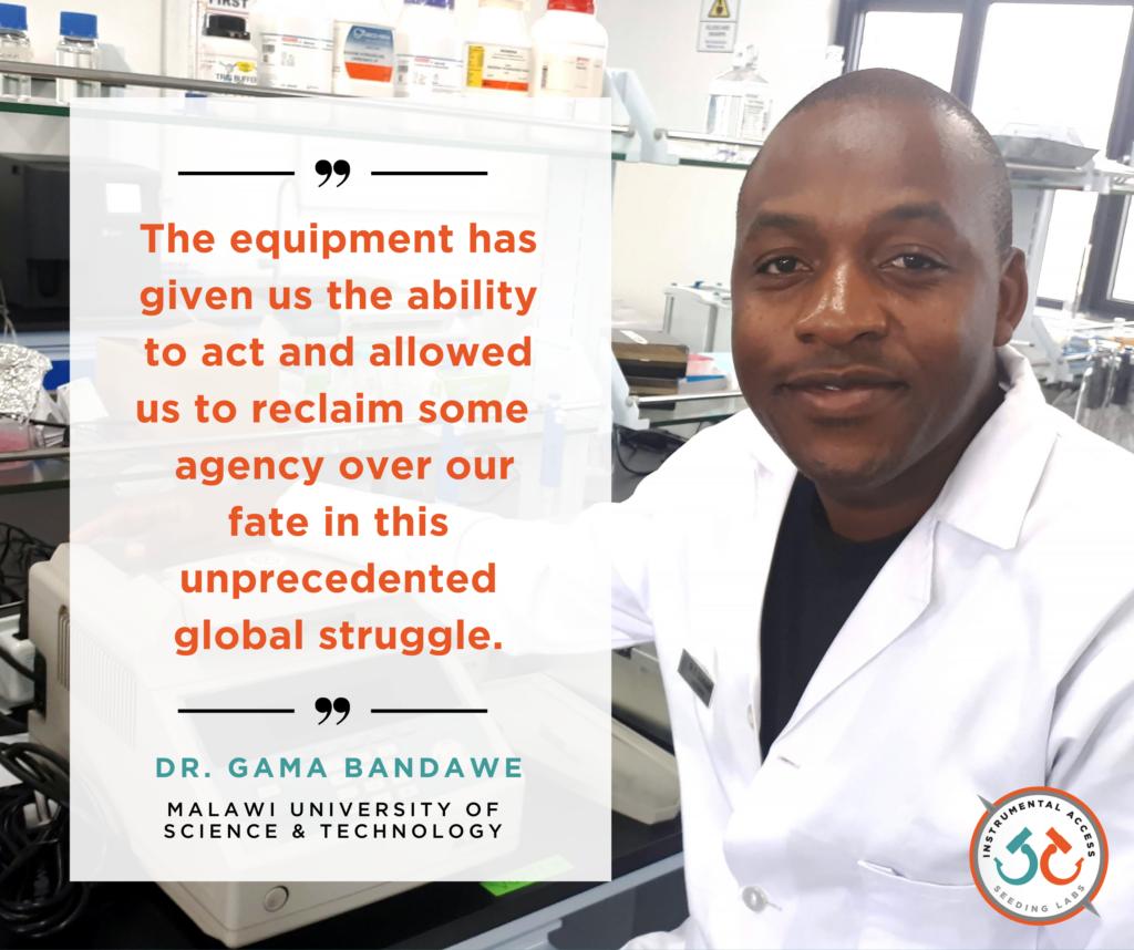 Dr Gama Bandawe, MUST