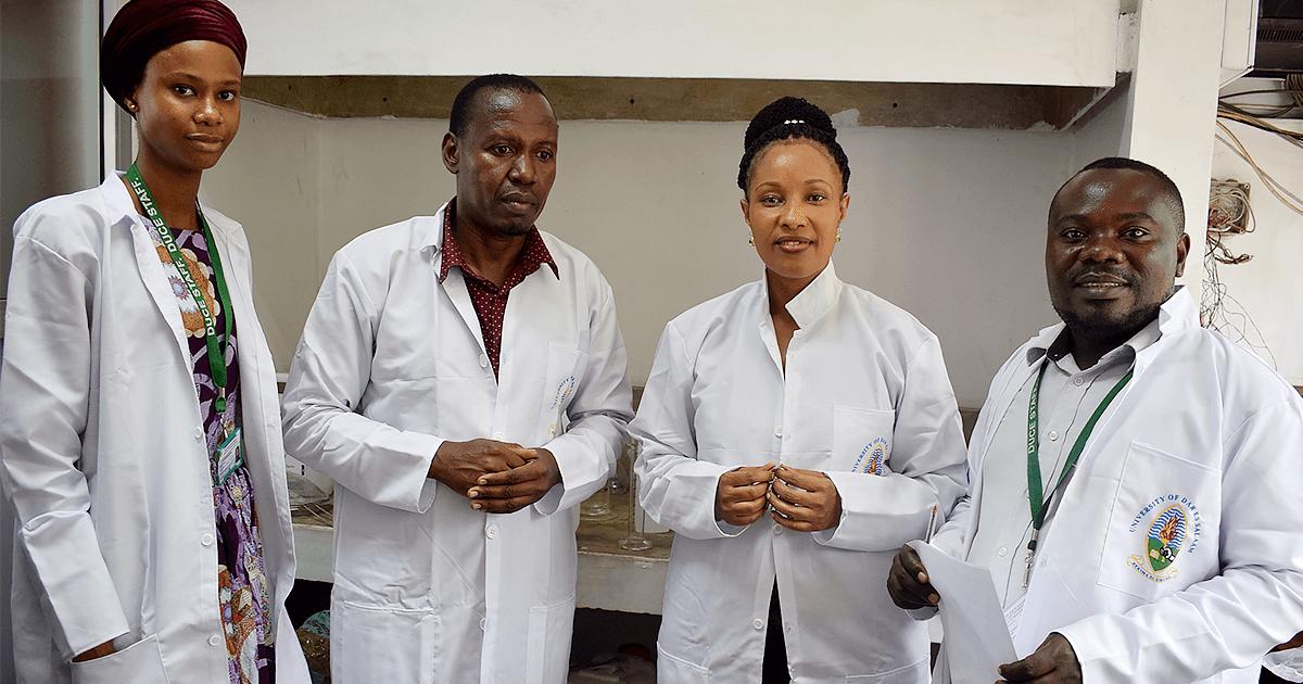 Scientists at the Dar es Salaam University College of Edcuation