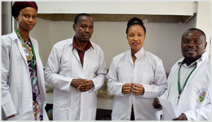 Researchers in the Department of Chemistry at the Dar es Salaam University College of Education