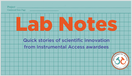 Banner for Lab Notes series of blog posts
