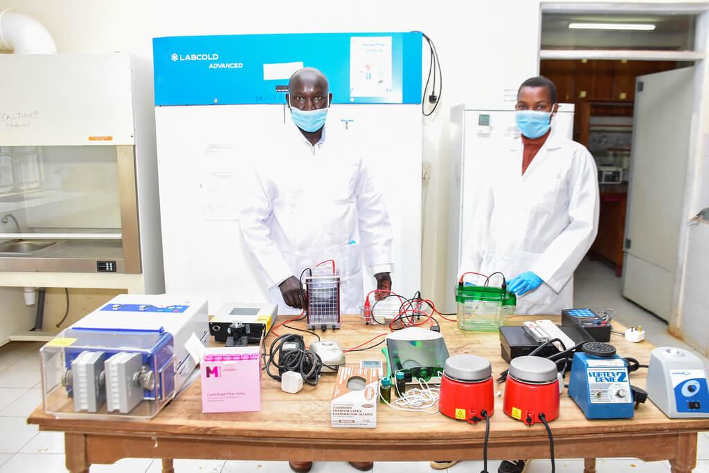 University of Eldoret equipment arrival