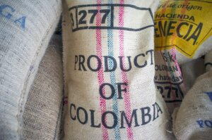 Coffee bag made from fique