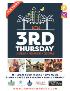 3rd Thursdays / Flicks + Food Trucks @ Grand Central at Kennedy | Tampa | Florida | United States