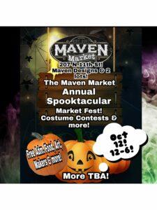Maven Market Halloween Spooktacular Fest @ Maven Designs | Tampa | Florida | United States